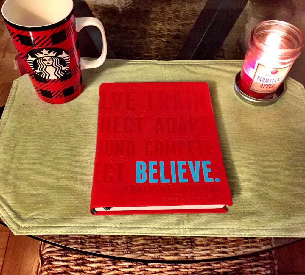 Believe I Am Training Journal