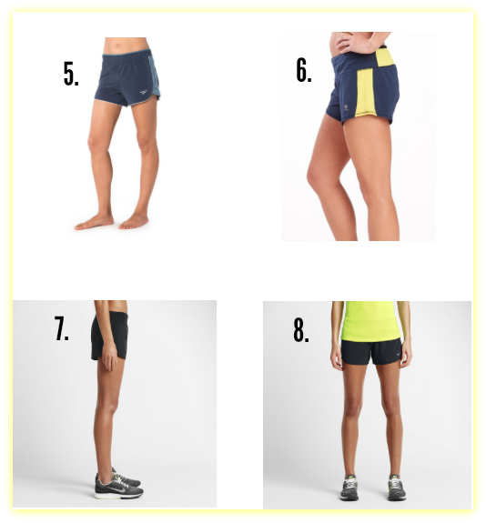The Skinny on this Season's Run Shorts - Race Pace Jess