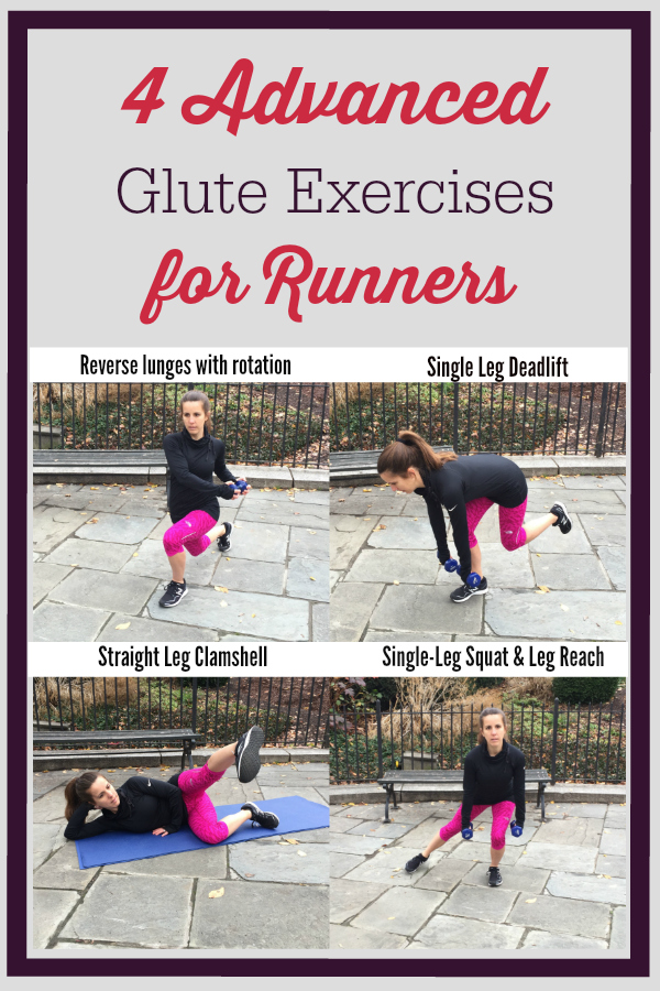 4 Advanced Glute Exercises For Runners - Race Pace Jess